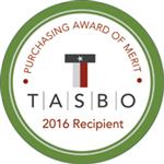 TASBO 2016 Award of Merit