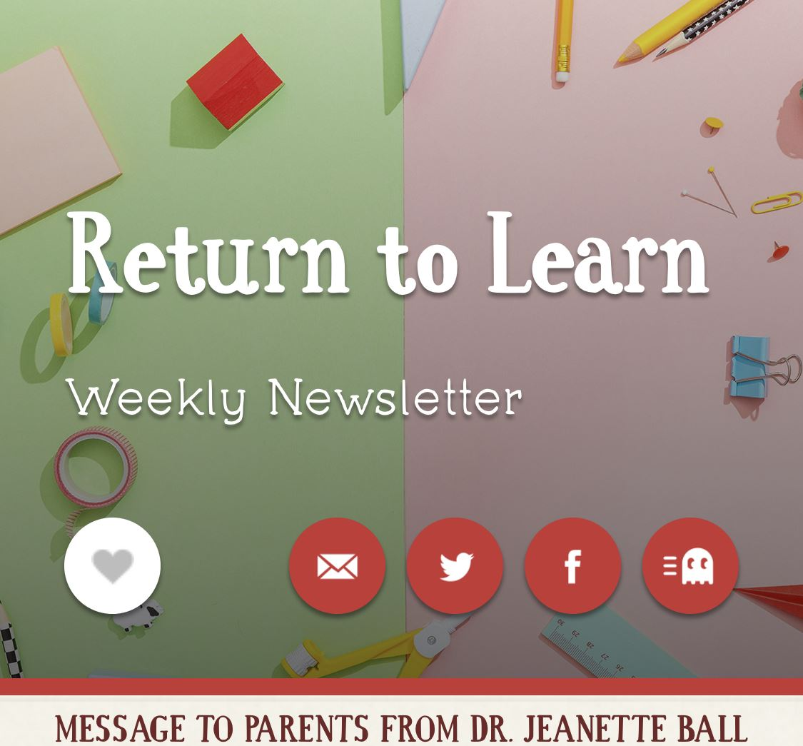 Return to Learn Weekly Newsletter