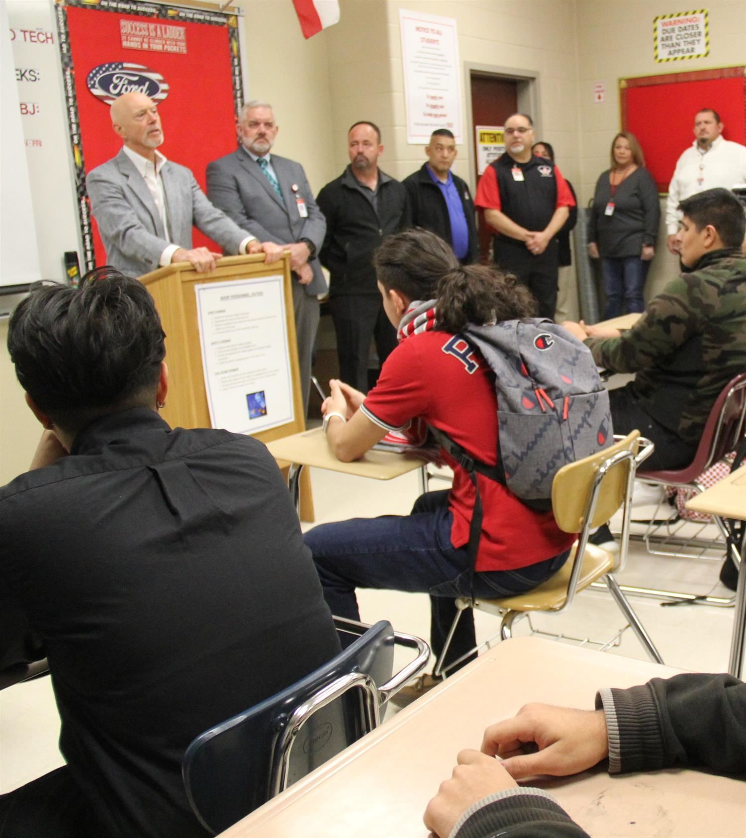 Judson Auto Tech Program Gets Boost From Jordan Ford