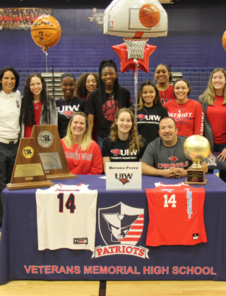 Signings For Two Patriot Basketball Stars