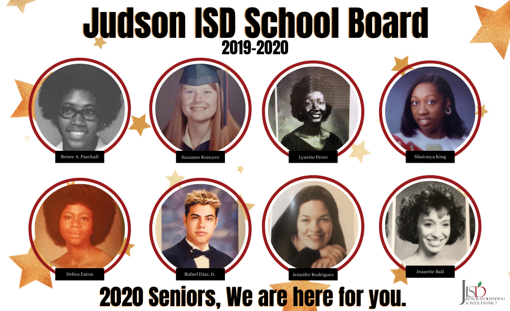 JISD Board Members as High School Seniors