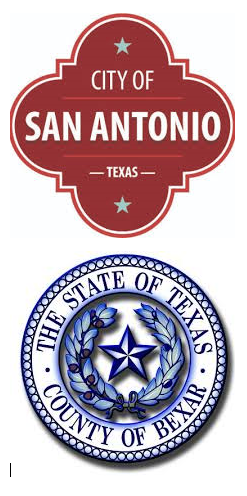 Bexar County and San Antonio seals