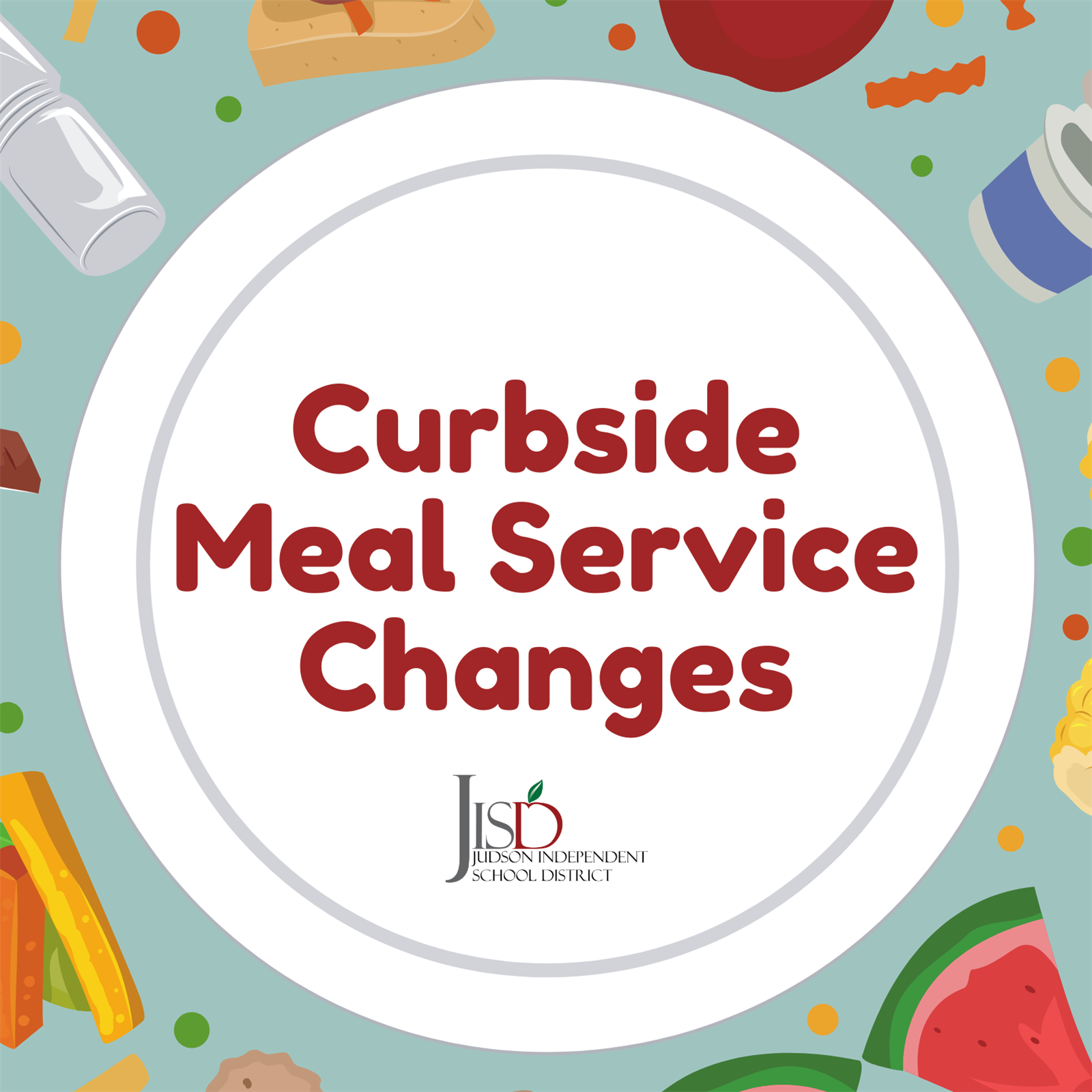 Curbside Meal Service Changes