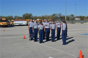 Wagner ROTC at East Central Meet