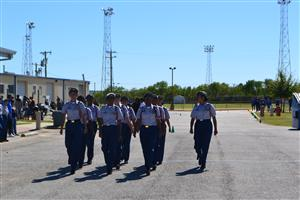 Wagner ROTC at Somerset Drill Contest