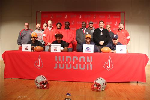 National Signing Day at Judson HS