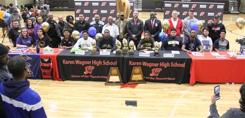 Wagner National Signing Day