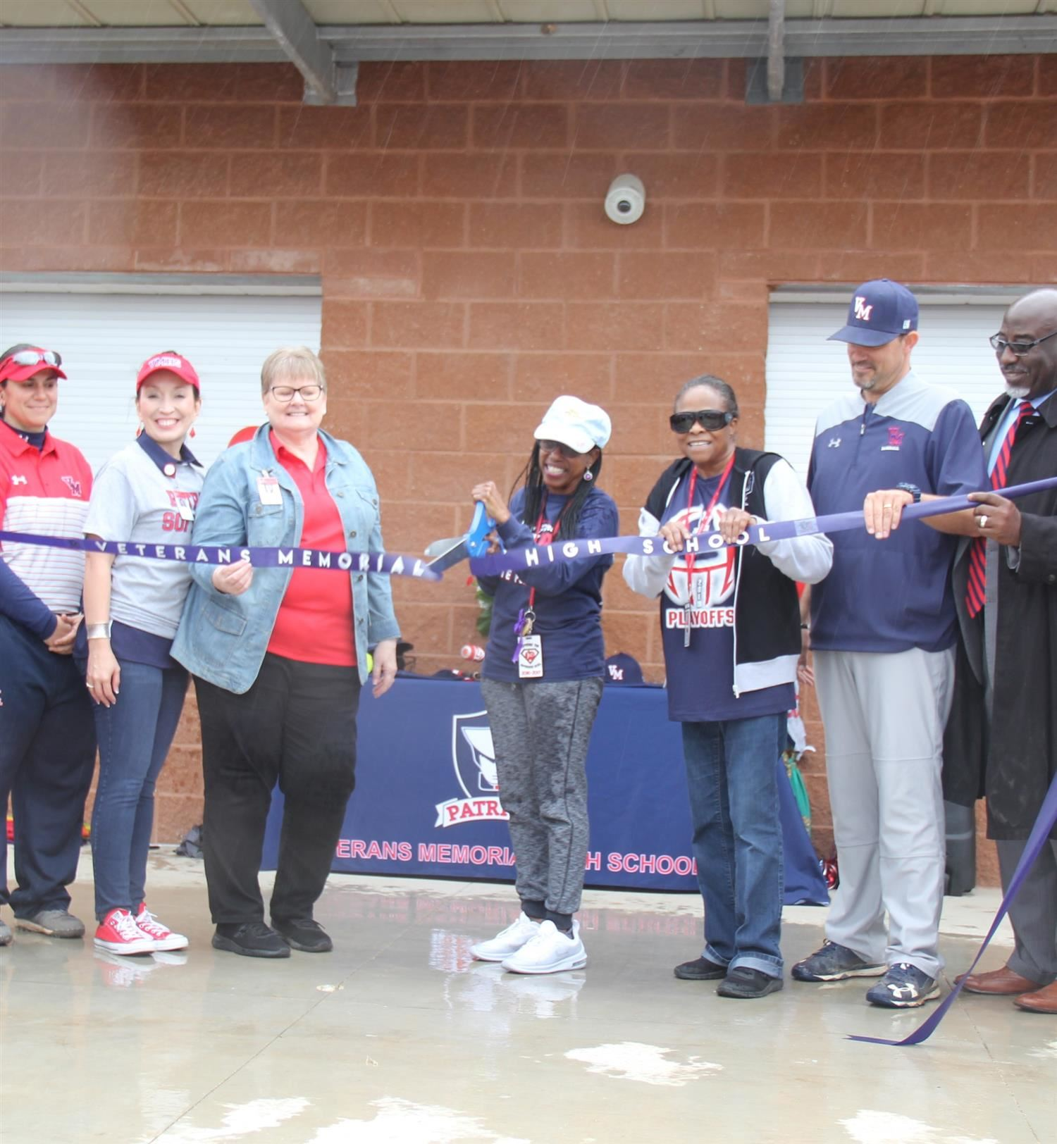 Ribbon Cut on Patriot Athletic Fields