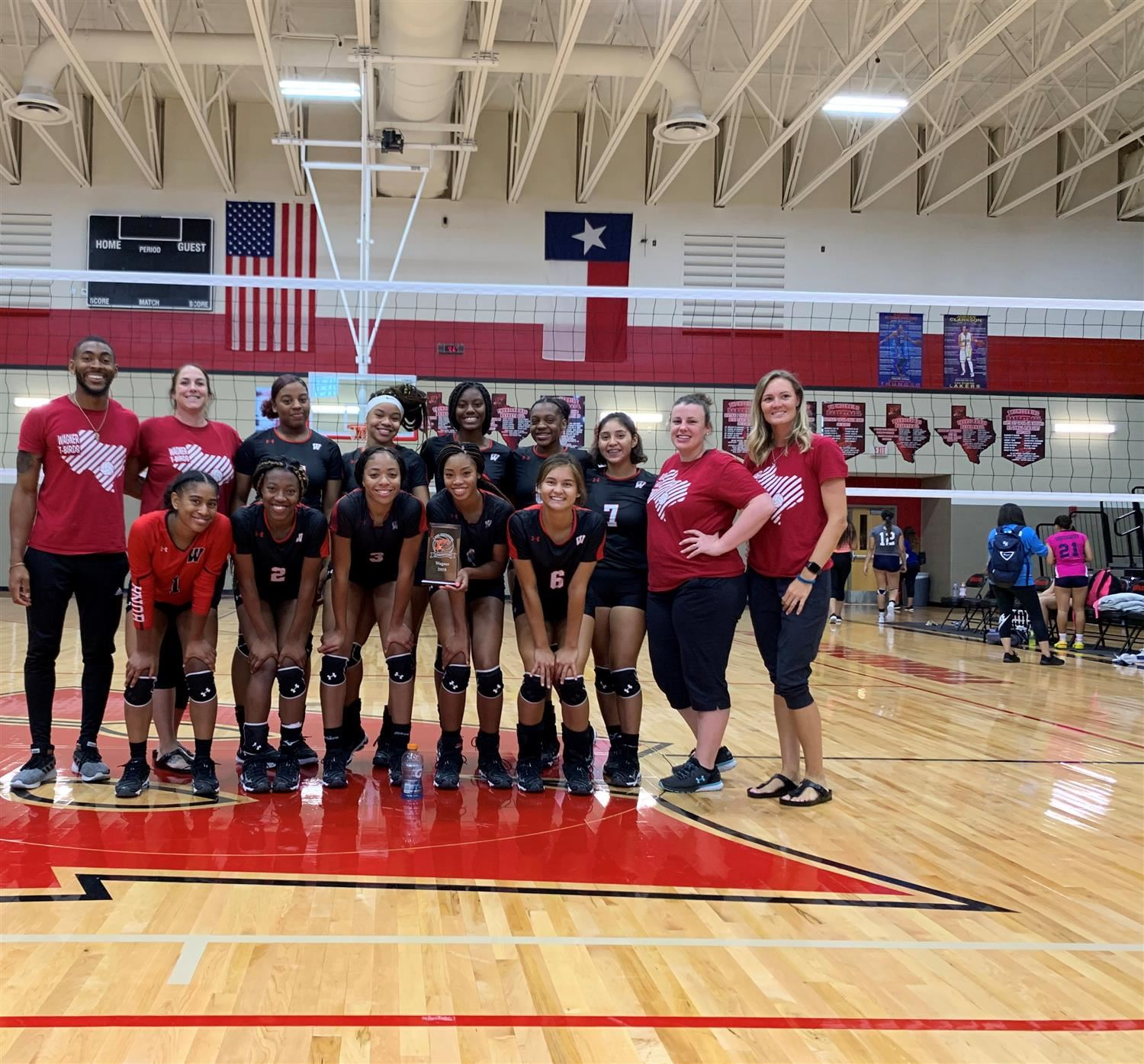 Big Win For T-Bird Volleyball Team