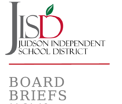 JISD Board Briefs Cover