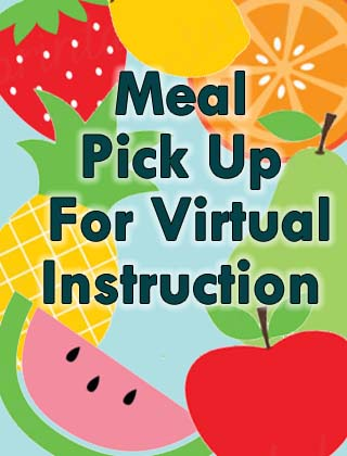 Daily Curbside Meal Pick Up For Virtual Instruction Students