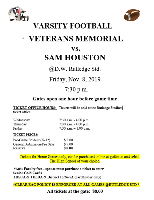 Veterans Memorial-Sam Houston