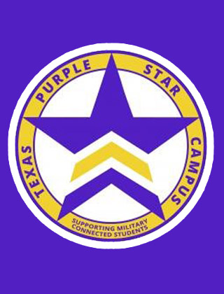 Copperfield Elementary has been designated a Purple Star Campus by the Texas Education Agency