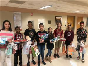 Woodlake Hills MS Military Connected Students at SAMMC