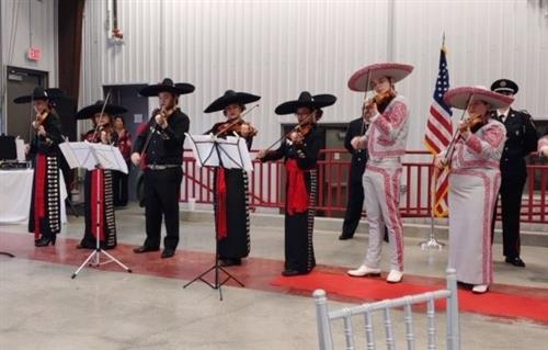 Veterans Memorial and Judson Mariachis Help Celebrate Converse FD