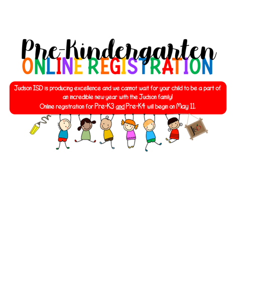 Pre-K3 and Pre-K4 Student Registration for 2020-2021