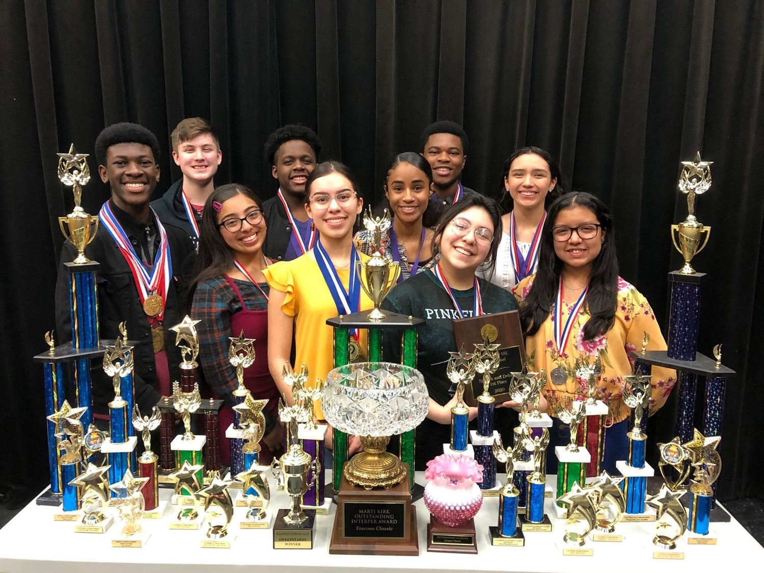 Judson Theater students going to state/nationals
