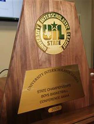 Wagner Boys Basketball Honored By UIL