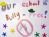 Bully-Free sign