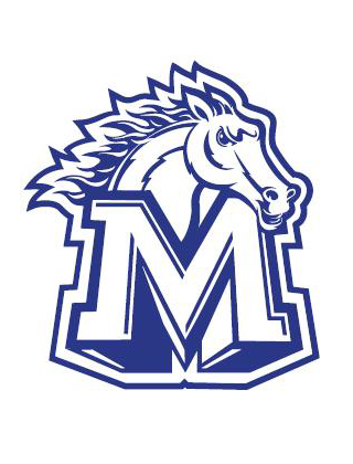 Metzger Middle School Campus Logo Face Masks