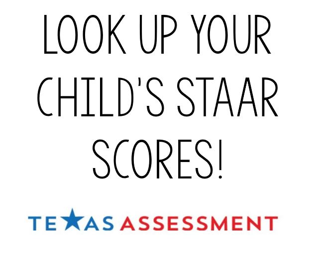 Look Up STAAR Scores