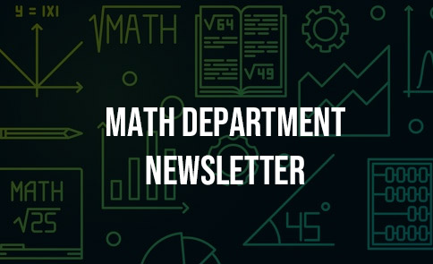 Math Department Newsletter
