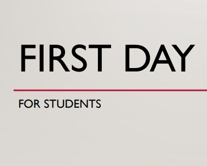 First Day Procedures for Students