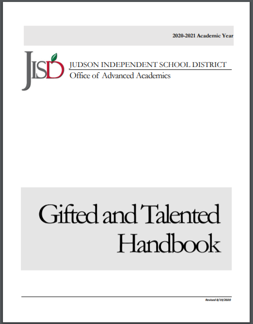 Gifted and Talented Handbook
