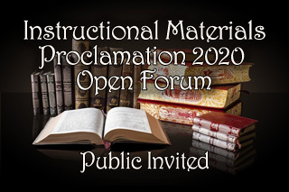 Instructional Materials Proclamation 2020