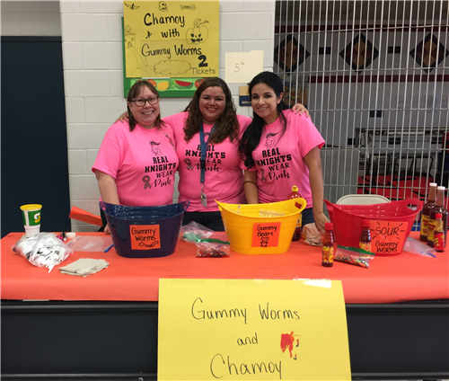 3rd Grade selling Gummy Worms and Chamoy