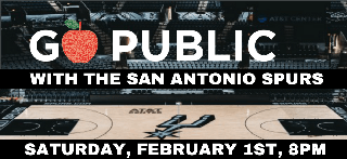 Go Public Night with the San Antonio Spurs!