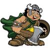 Woodlake Vikings Logo